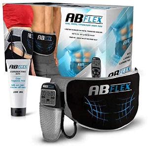 Cinturón electroestimulador para tonificar abdominales