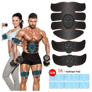 Estimulador de abdominales, electroestimulador para perder grasa y tonificar músculos para hombre y mujer