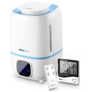 Humidificador 360 grados para bebés, con depósito de 3 litros, silencioso, con apagado automático y aromaterapia