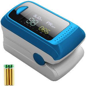 Monitor de saturación de oxígeno y frecuencia cardíaca, controla tu oxígeno en sangre en tu casa