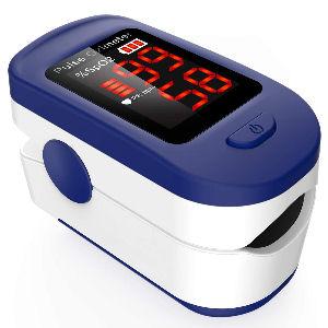 Oxímetro de pulso para dedo, pulsioxímetro digital con pantalla LED