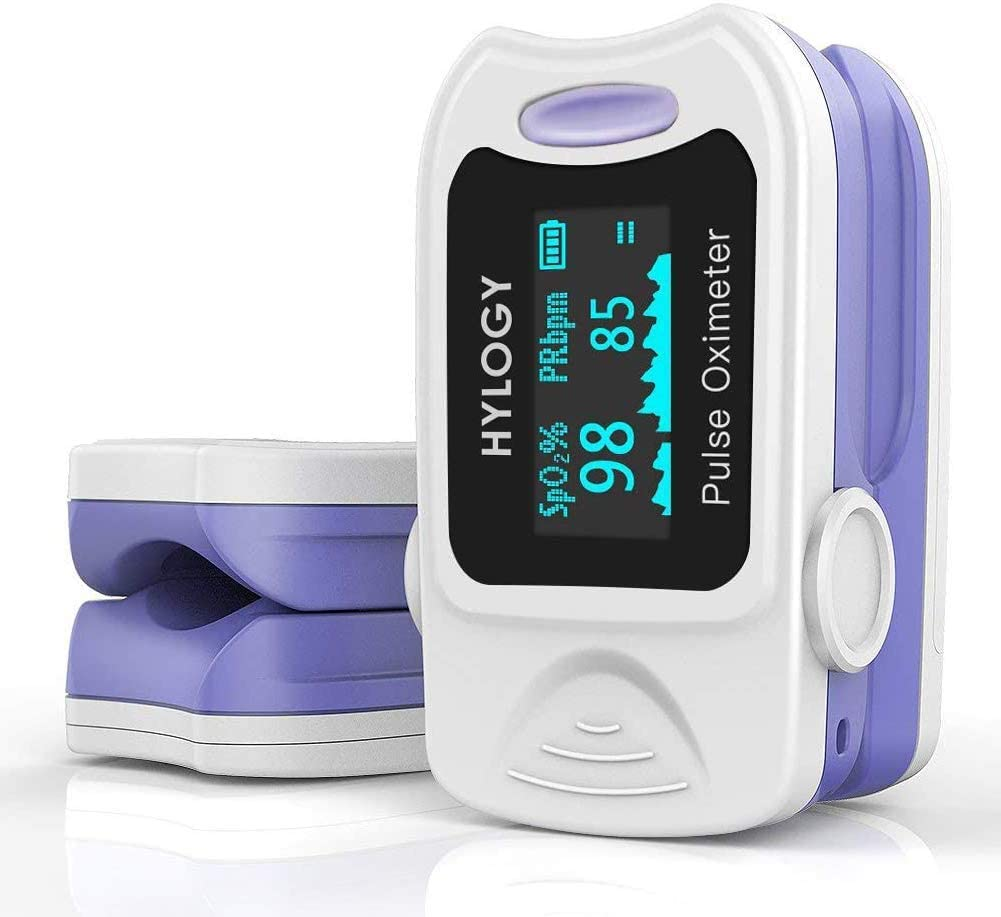 Oxímetro para medir la saturación de oxígeno en sangre en casa