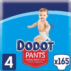Pañal braguita Dodot talla 4 de 9 a 15 kg.