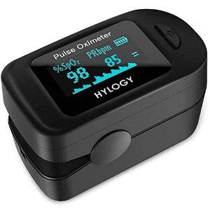 Pulsioxímetro para medir el oxígeno en sangre y la frecuencia cardíaca, mide SpO2 y la PR