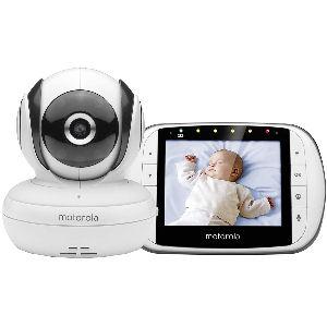 Vigilabebés Morotola con pantalla LCD de 3,5 pulgadas, modo ECO y visión nocturna